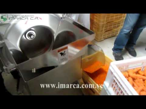 IMARCA Cubicadora de Vegetales Cubeteadora automatica de Vegetales (zanahoria) Vegetable Dicer
