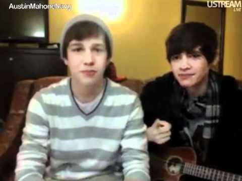 Austin Mahone USTREAM Friday February 10th 2012 Part 2 of 3 [5PM]