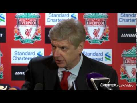 Arsenal manager Arsène Wenger: Only fans were good