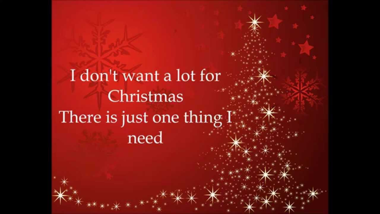 Mariah Carey - All I Want For Christmas Is You Lyrics HD ...