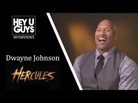 Dwayne Johnson Interview - Hercules