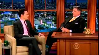 Video: Jim Parsons - Late Late Show 5. February 2014