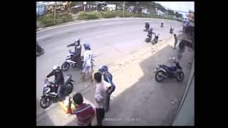 Dàn cảnh tinh vi để trộm xe Yamaha Exciter 150
