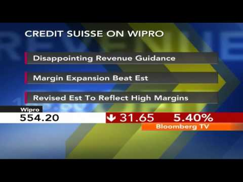 Market Pulse- Wipro Cracks On Weak Q1FY15 Guidance