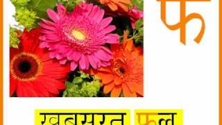 Learn the Hindi Alphabet - with animations and sounds! view on youtube.com tube online.