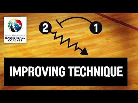 Basketball Coach Vlade Djurovic - Various Drills to Improve Basketball Technicqu