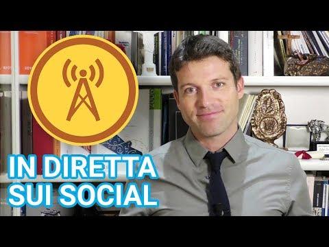 Sette consigli per andare in diretta su Facebook (e sugli altri social) #tutorialweca