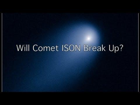 Will Comet ISON Break Up?