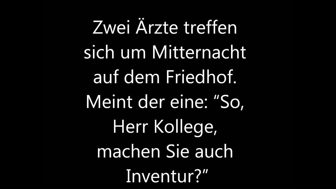 Schwarzer Humor & Flach Witze (Selber lesen/Part2) - YouTube