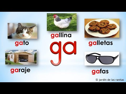 # 16 Sílabas ga go gu - Syllables With Gg