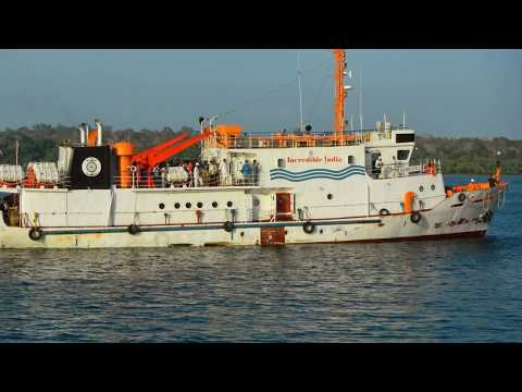 Andaman to Chennai trip by ship and sea plane 2014