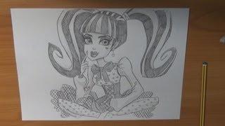 Dibujar A Draculaura De Las Monster High