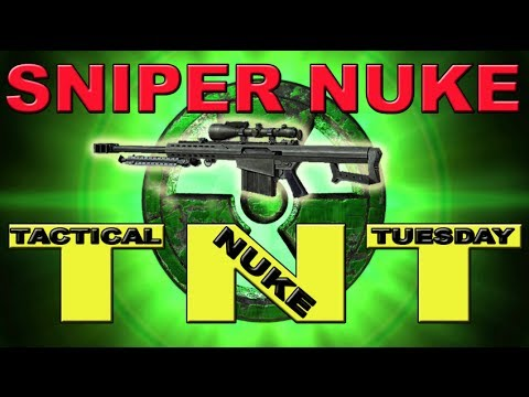 Tactical Nuke Tuesday: Thermal Sniper Nuke Modern Warfare 2 (TNT)