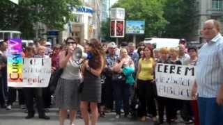 Протест против беззакония Примэрии Кишинэу