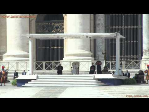 The Pope, St Peter's Basilica, Rome, Italy, Collage Video - youtube.com/tanvideo11
