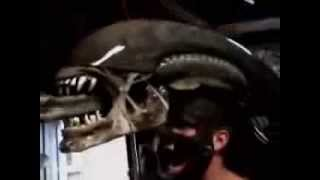 Alien Animatronic Mask