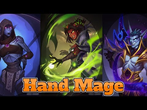 [Legend] Hand Mage The Boomsday Project | Hearthstone Guide How To Play