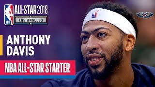 Anthony Davis 2018 All-Star Starter | Best Highlights 2017-2018