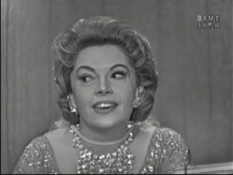 What's My Line? - Jayne Meadows; Tony Randall [panel] (Dec 21, 1958)