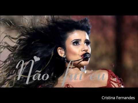 Não Fui Eu - Paula Fernandes /Áudio da Nova Música