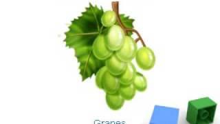 Fruits Flashcards for Preschoolers and Kindergarten kids