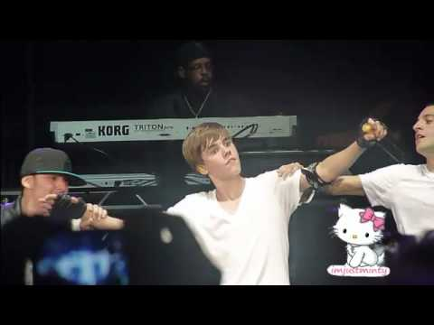 Justin Bieber - Dougie,Jerk & Baby LIVE at the B96 Jingle Bash in Chicago 12/11/10