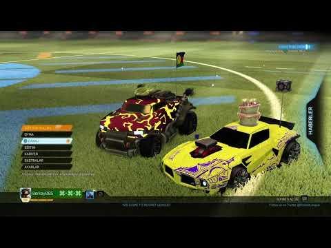 Rocket League turkce gameplay/Oynanis