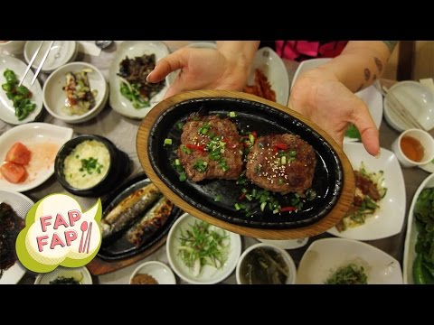 A Bajillion Korean Side Dishes