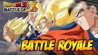 Dragon Ball Z: Battle Of Z PS3/X360/PSVITA Battle