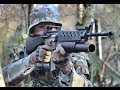 Airsoft War M249, Bolt M4 The Fort Scotland HD