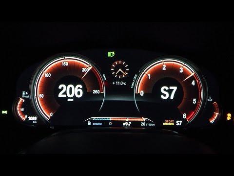 2017 BMW 750d xDrive 400 HP 0-100 km/h, 0-100 mph & 0-200 km/h Acceleration