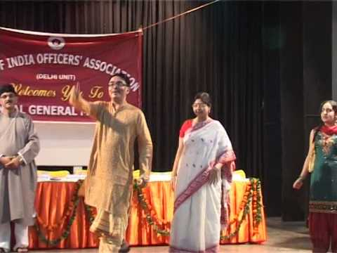 Mile Sur Mera Tumhara by Bank of India Staff at Officers Association AGM