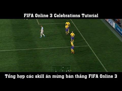 FIFA Online 3 ► Celebrations Tutorial - Ăn mừng bàn thắng
