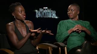 Black Panther Lupita Nyong'o & Danai Gurira Interview