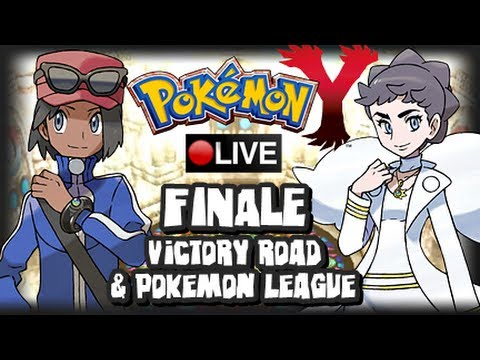 Pokemon X & Y Livestream Part 7 FINALE & Giveaway