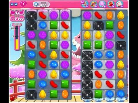 Candy Crush Saga 第375關 - YouTube