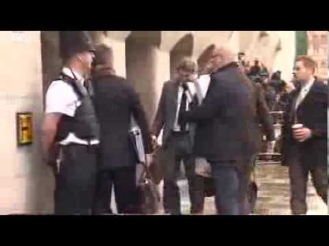 Phone hacking-trial - Jury Hears David Blunkett Voicemail  11.11.2013