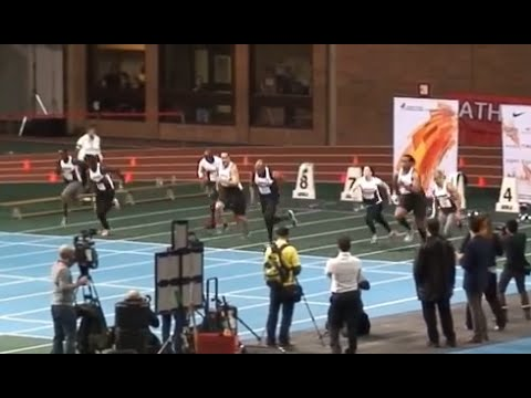 2014 AC indoor open : Mixed Celebrity Invitational 60 Meter dash