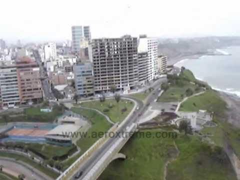 Paragliding Lima Peru / Tandem Flight Miraflores / Parapente Peru, Lima