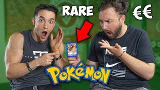 J'ai retrouvé une carte pokémon hyper rare qui coûte super chère !! (ft. David lafarge pokémon)