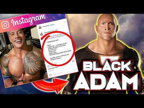 How The Rock Got SUPER RIPPED for Black Adam (MY THOUGHTS)