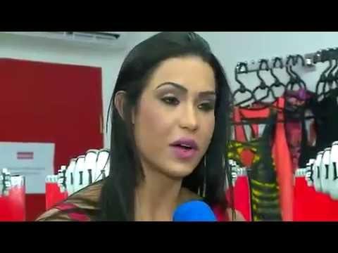 tv fama Gracyanne trai Belo e ouve Luan Santana 17 04 2014 mircmirc