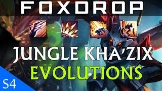 What Skills To Evolve On Jungle Kha'zix League Of