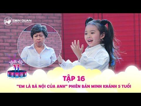 Biệt tài tí hon   tập 16: Bé Minh Khánh diễn