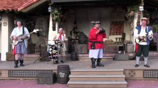 Rusty Cutlass pirate band performs in Adventureland during Limited Time Magic view on youtube.com tube online.
