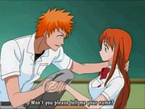 ichigo and orihime Kiss Me Through The Phone, Ichigo and Orihime Soulja Boy- Kiss Me Through The Phone i used to really like this so that's way i made this AMV and i think ichigo and orihime make a good ...