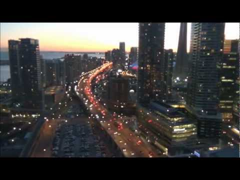 Downtown Toronto Rush Hour Traffic - Time Lapse