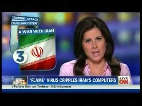 "War on Iran ,""Flame""Virus Cripples Iran's Computers !"