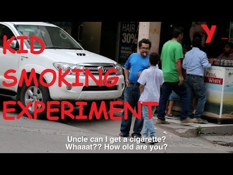 Kid: Can I get One Cigarette, Uncle? - The Kid Smoking Experiment in India | YTV Network