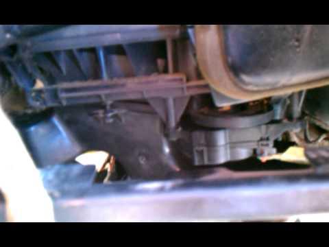 How To Replace (fix) 2000 Chrysler 300m Mode Door Actuator Air Vents
